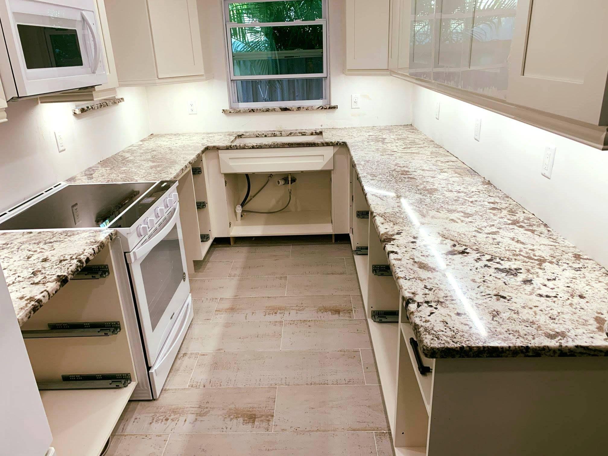 Azul Nova Color Granite Natural Stone Countertops Countertops Kitchen Countertops