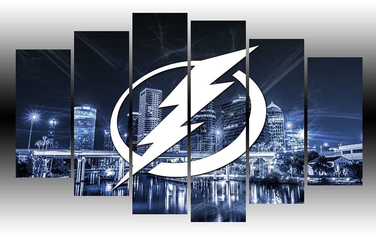 Tampa Bay Lightning Nhl Hockey Wall Art Tampa Bay Lightning Nhl Hockey Teams Tampa Bay Rays Outfit