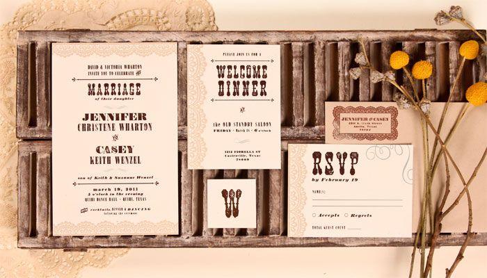 the creative parasol austin texas wedding invitations cheri fenwick - Wedding Invitations Austin Tx