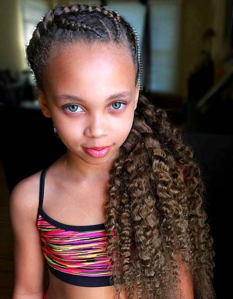 30 Super Cute Hairstyles For Little Girl 2019 In 2020 Little Girl Haircuts Mixed Girl Hairstyles Kids Hairstyles