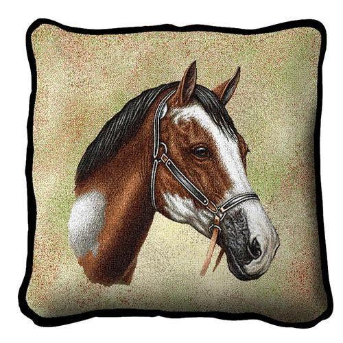Art Dog Ltd Percheron a Keyring with a Horse