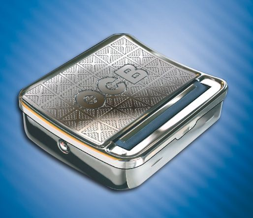 The Metal Automatic Rolling Box is dead easy to use put a paper in lick the gum put your tobacco in close the box and it pops out rolled and ready to