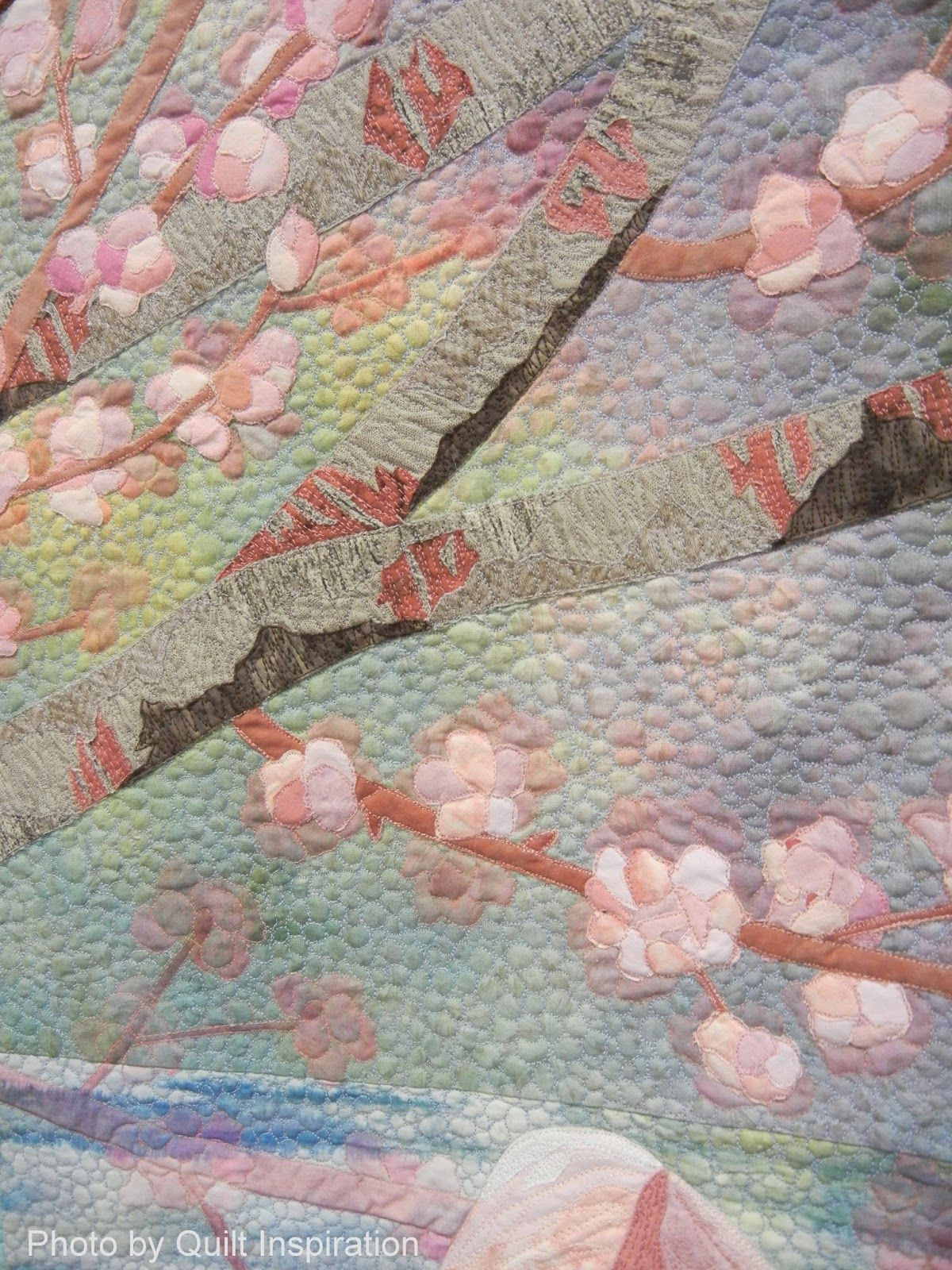 It S Cherry Blossom Time Flower Quilts Tree Art Art Quilts