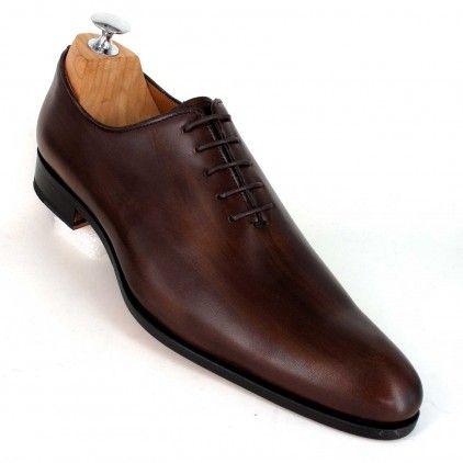 Richelieu Mode Homme Chaussures cuir Marron Marron Achat