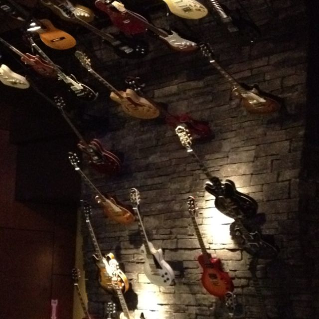 An awesome wall @ The Hard Rock Waikiki