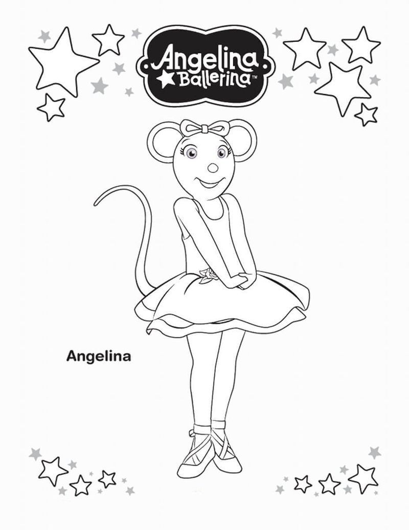 Ballerina Cat Coloring Pages Ballerina Coloring Pages Coloring Pages For Girls Princess Coloring Pages