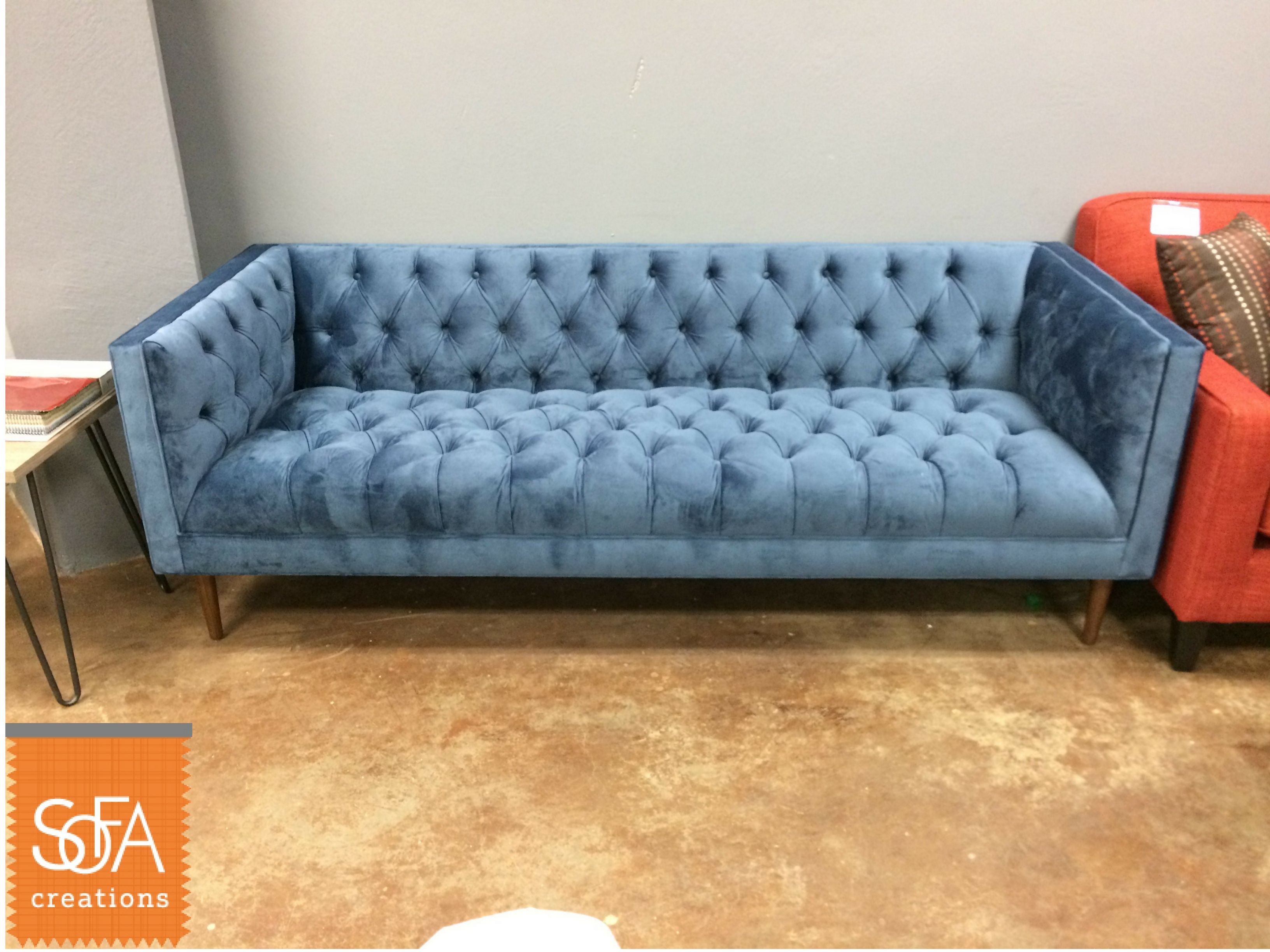 The Charleston Sofa Is Our Modernized Take On A Chesterfield Come