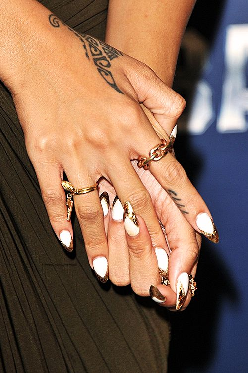 Pin By Lanetta On Cosmetics Red Carpet Nails Celebrity
