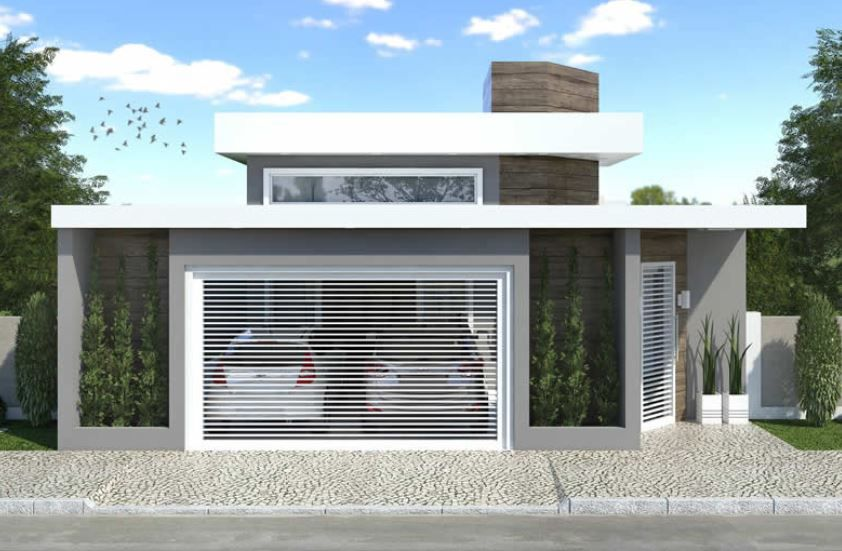 Home Design 10x30m With 3 Bedrooms House Plan Map In 2020 House Design My House Plans Model Homes