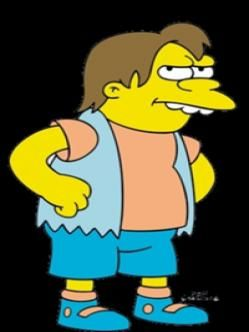 Nelson Mandela Muntz Nelson Ruffino Nelson Muntz Simpsons Characters Marge Simpson