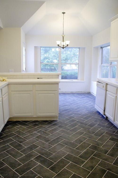 39++ Grey herringbone tile kitchen floor ideas