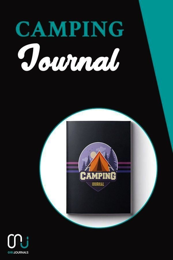 ~ Camping Travel Journal for Campers (Camping Badge Edition V5)! Blogging for beginners, Blogging t