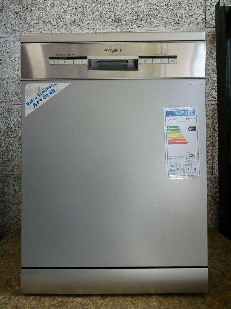 eBay Sponsored Spülmaschine Silber Exquisit GSP 9112.1