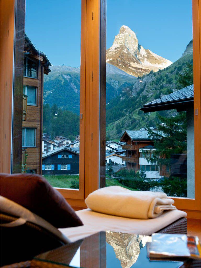 wellness gem tlichkeit unterm matterhorn hotel bella vista zermatt schweiz sch ne. Black Bedroom Furniture Sets. Home Design Ideas