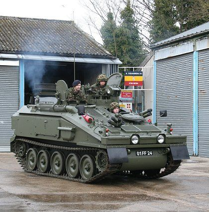 Army - FV103 Combat Vehicle Reconnaissance Tracked Spartan (Armoured