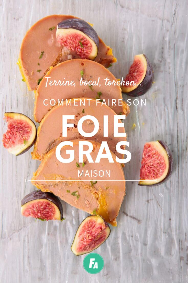 Terrine, bocaux, torchon… Comment faire son foie gras maison ? en 2020 | Faire son foie gras ...