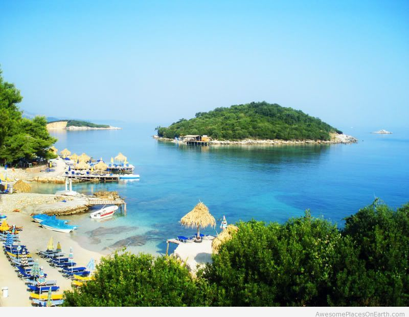 Groovy Ksamil Albania Beach Places To Visit Travel Albania Home Interior And Landscaping Palasignezvosmurscom