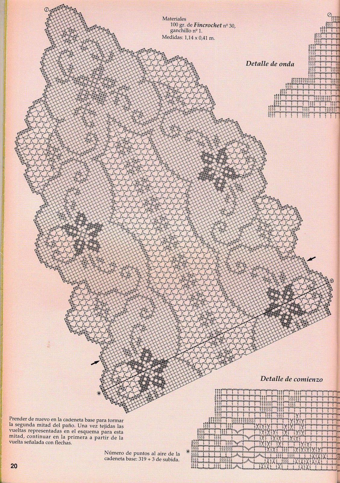 toalha+crochê+filé+gráf..jpg (1128×1600)   gráfico   Pinterest ...