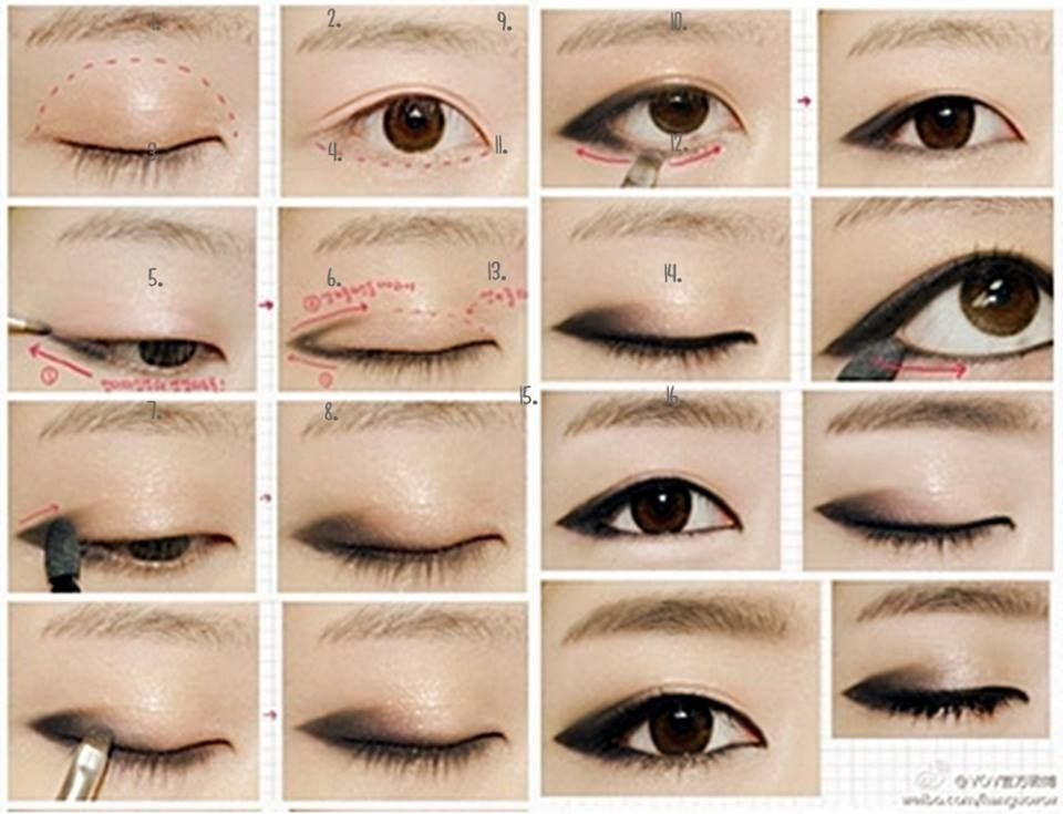 Small Eyelid Beauty Hair Pinterest Makeup Eye Makeup And