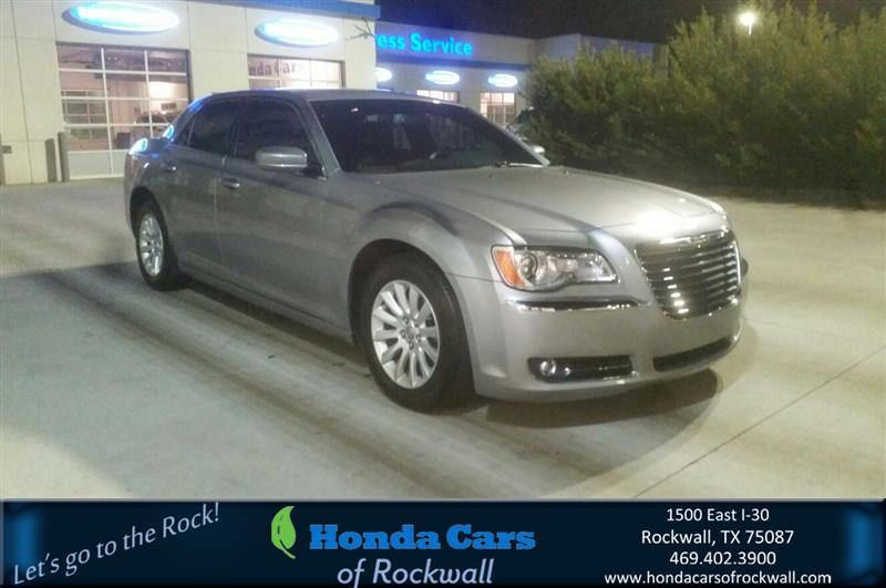 Congratulations marian on your chrysler 300 from marvin