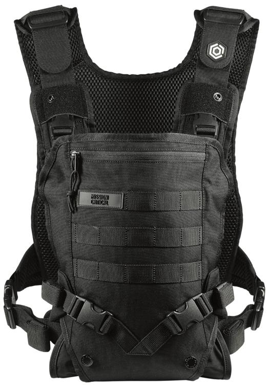 The Mission Critical Messenger Diaper Bag features a unique ...
