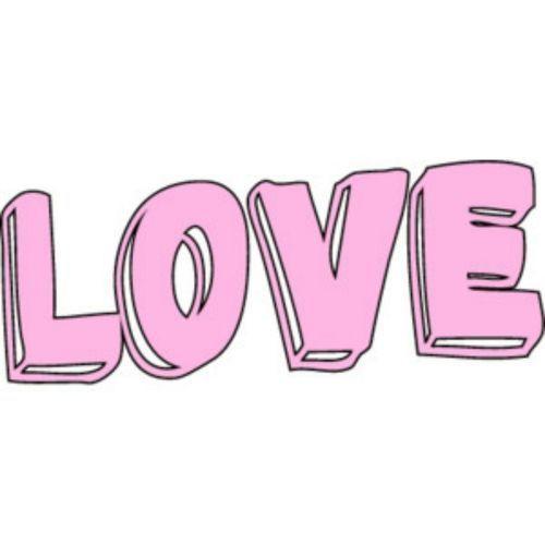Imagen De Love Love Words Tumblr Clipart Clip Art