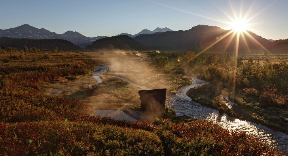 Kamchatka boasts abundant flora. The variable climate