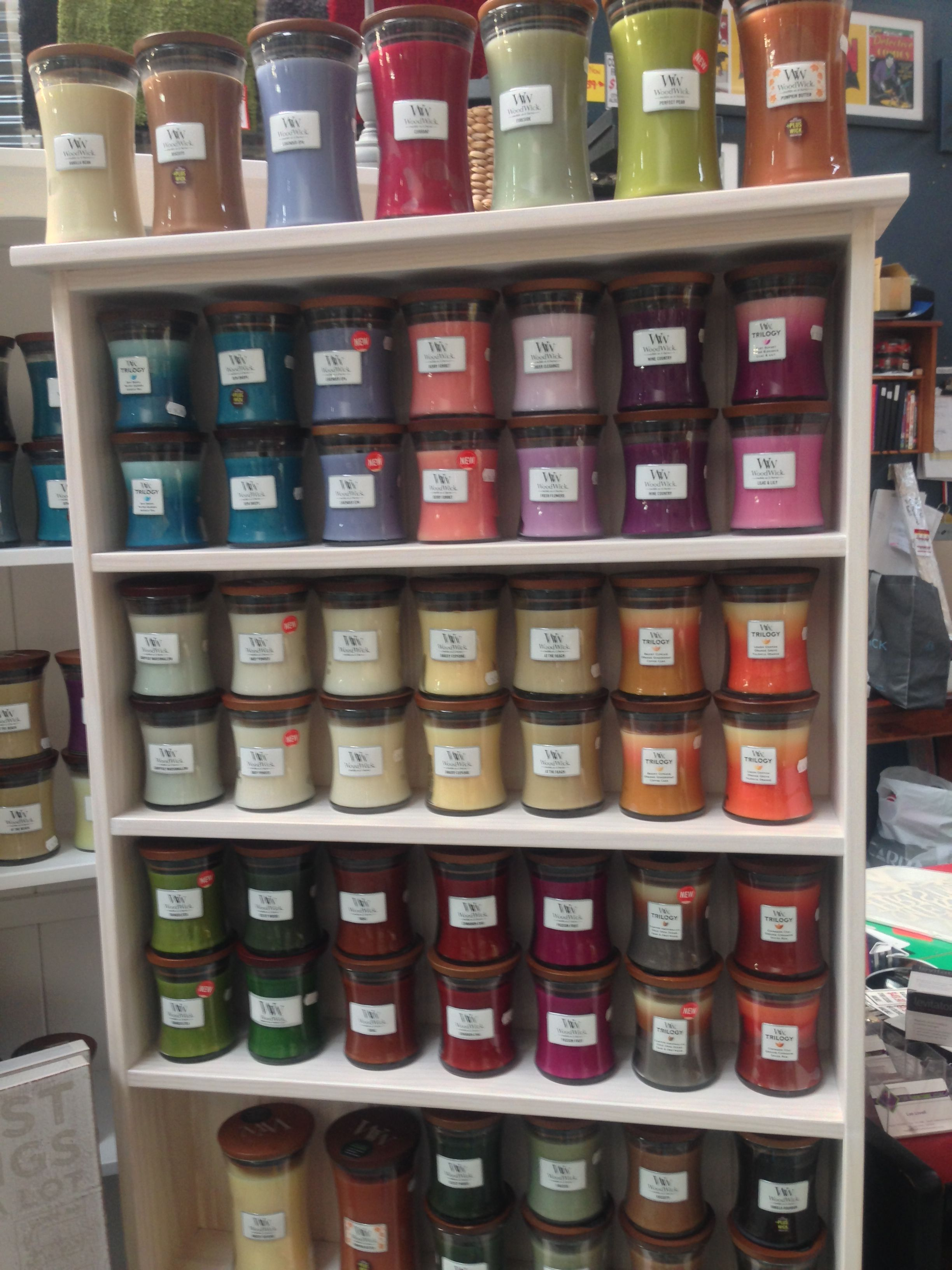 The Furniture Store Woodwick Candle Display You Can
