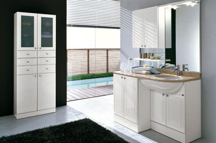 Badezimmerschrank Ideen für eine geschmackvolle Badeinrichtung - badezimmerschrank mit waschbecken