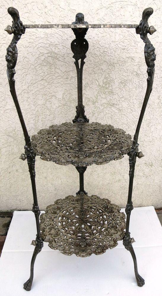 blumentisch gusseisen m gdesprung harz cast iron. Black Bedroom Furniture Sets. Home Design Ideas