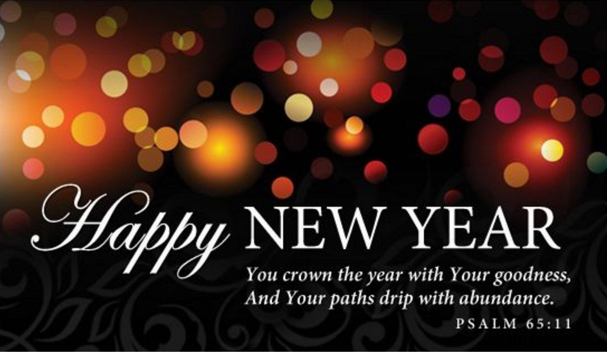 christian new year message relegious