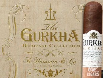 If you're a fan of premium cigars, you no doubt know the Gurkha name, along with its always-impressive packaging. New for 2015, Gurkha now introduces the medium to full-bodied Gurkha Heritage.    Heritage was hand-crafted in Nicaragua at the American Caribbean Tobacco factory under the guidance of Juan Lopez (Gurkha's National Sales Director & in-house blender) and approved by CEO Kaizad Hansotia. Undergoing a special blending process, the ci
