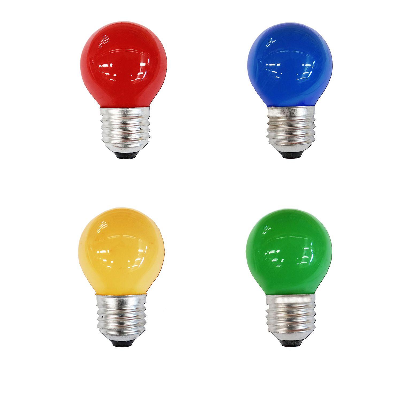 Bombilla De Colores De Led Para Guirnaldas Y Efectos 3w  ~ Bombillas Led Regulables En Intensidad