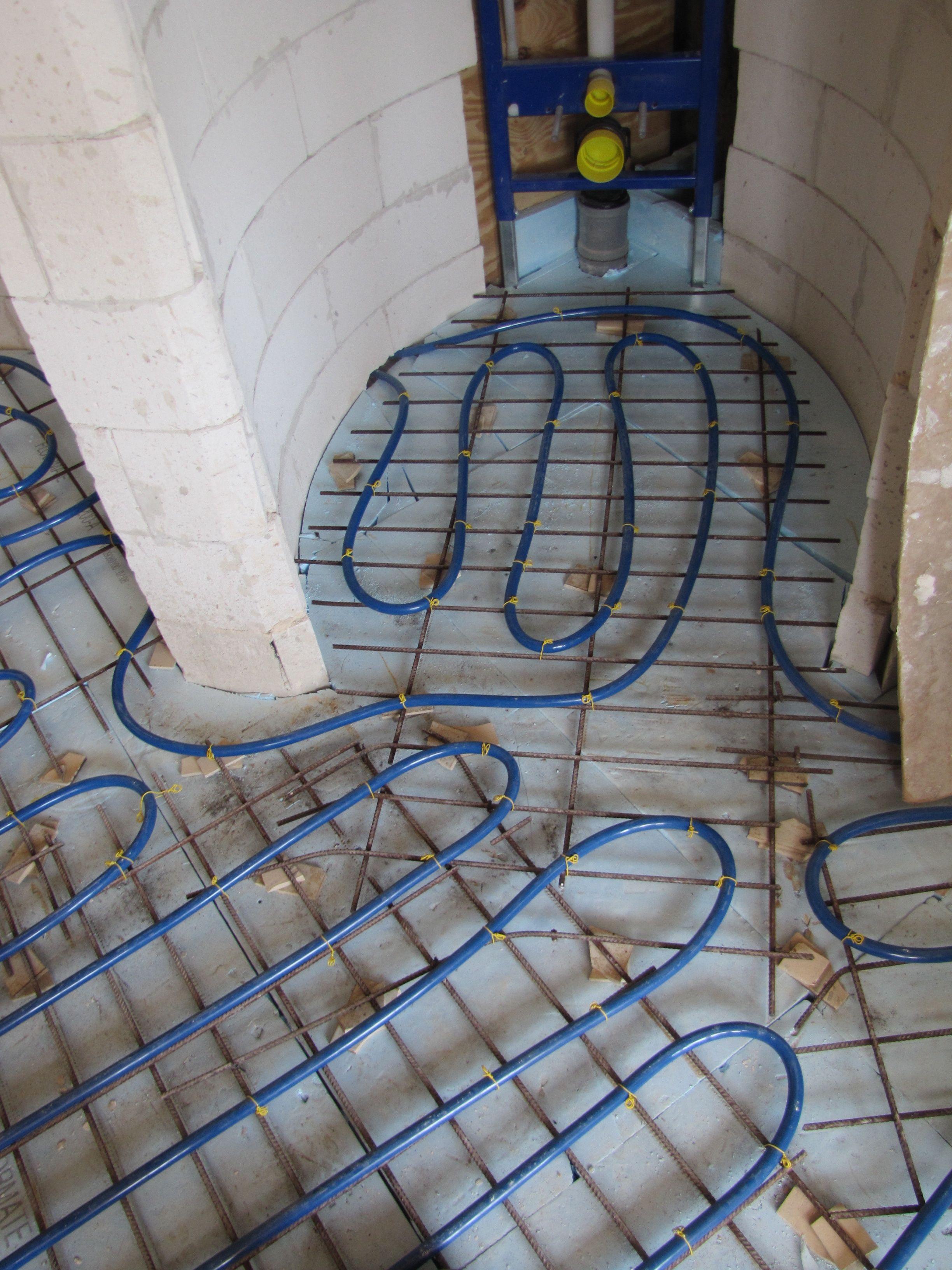 vloerverwarming badkamer | Humberville | Pinterest