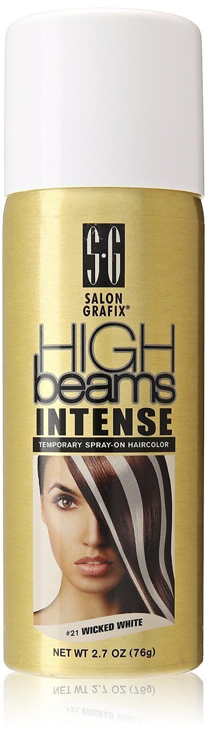 High Beams Intense Wicked White Hair Color Temporary Wash Out