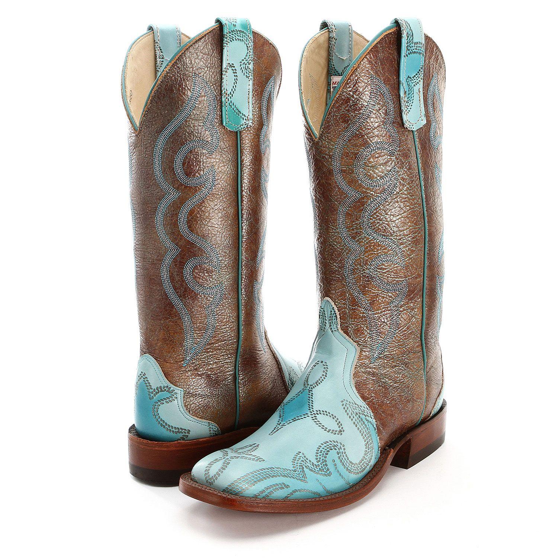 047bddd8 Anderson Bean Blue Dakota Cowboy Boots | OMG I LOVE Boots | Cowboy ...