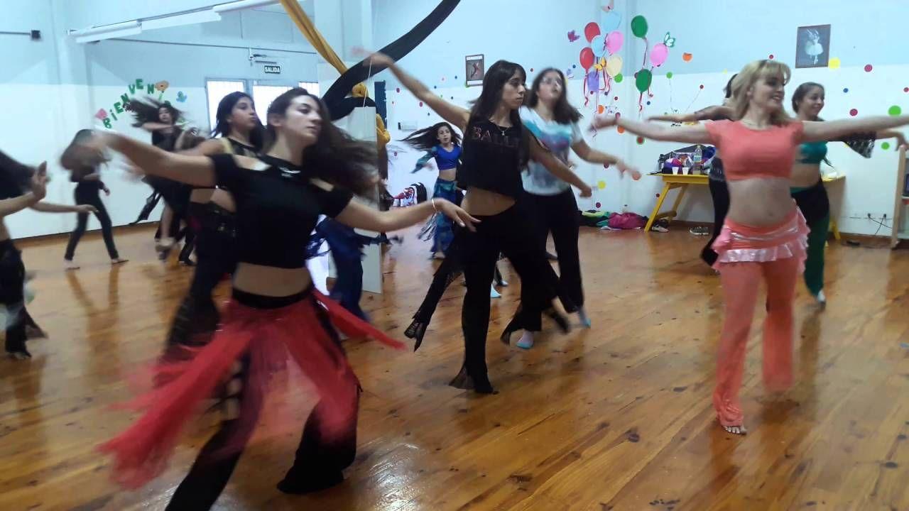Samira Naia dictando seminario de Tango oriental en San Juan abril 2016