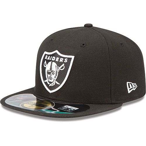 Men s New Era Oakland Raiders On Field 59FIFTY® Football Structured Fitted  Hat - NFLShop.com 19e365843a7c
