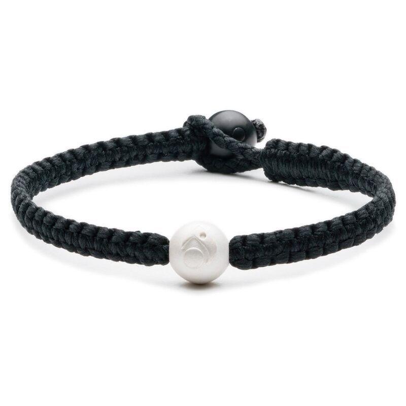 Lokai 20 single wrap black bracelet lokia bracelet