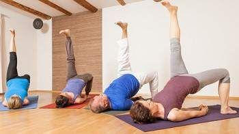 one legged bridge pose yoga eka pada setubandha