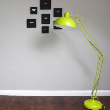 Lime angled floor lamp childrens bedroom pinterest floor lamp lime angled floor lamp aloadofball Images