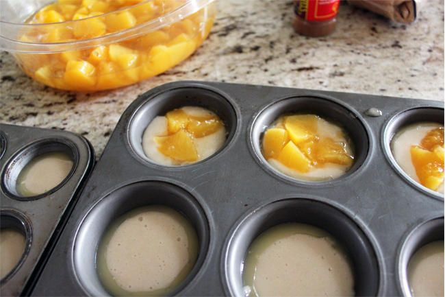 Mini peach cobblers, Must try with other fruits too!