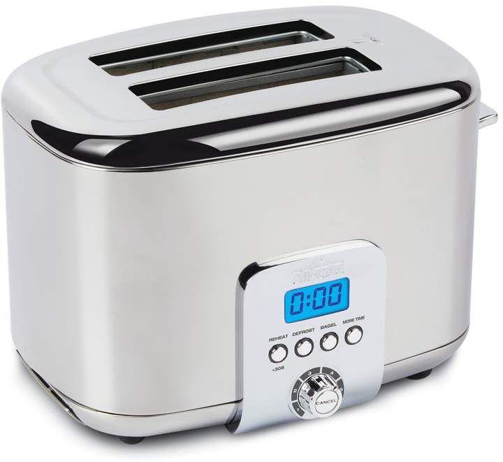 All Clad Stainless Steel 2 Slice Digital Toaster Stainless Steel