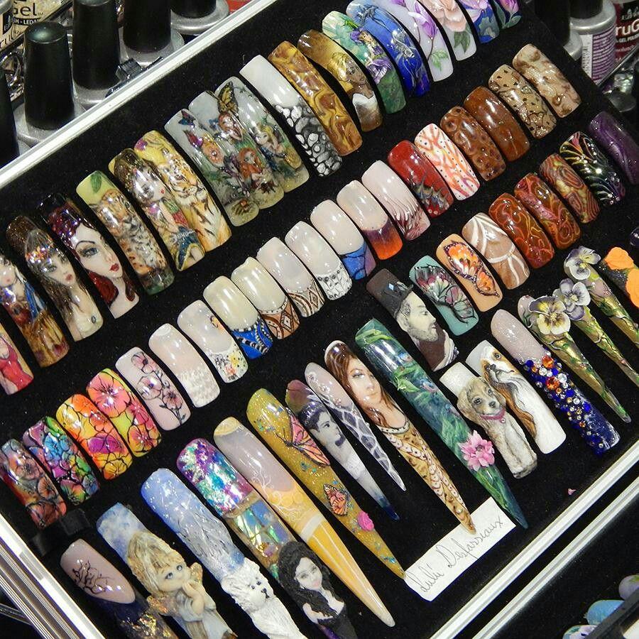 Fine Ezflow Nail Systems Vignette - Nail Art Design Ideas ...