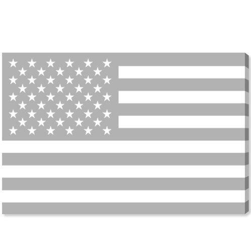 East Urban Home Leinwandbild American Flag | Wayfair.de