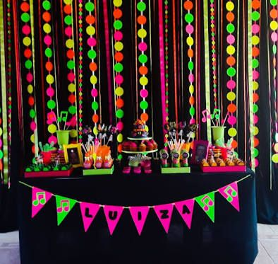 Image result for neon party ideas Entrance Pinterest Neon
