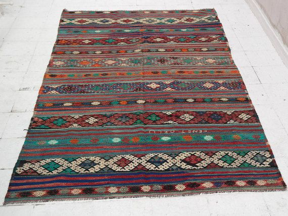 Tappeti Kilim Economici : Kilim rug kilim vintage kilim rug turkish kilim rug
