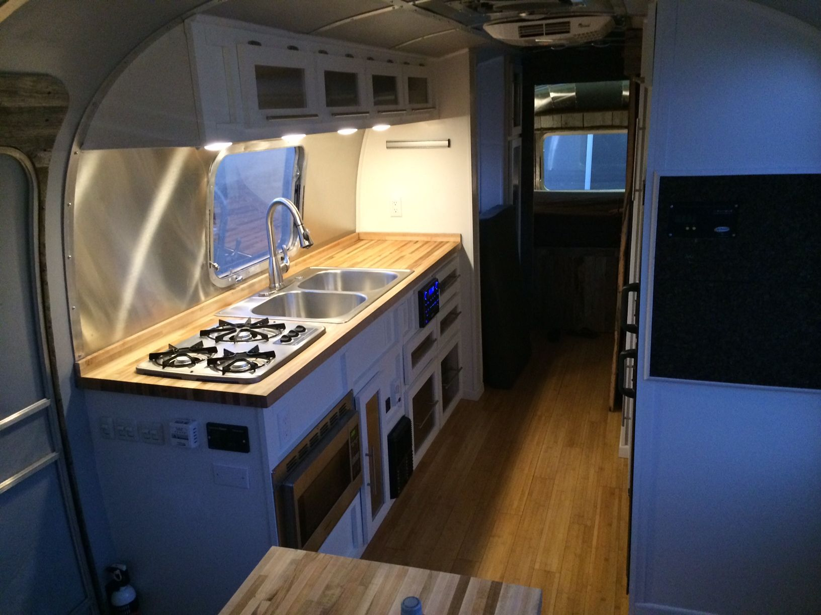 Vintage Airstream Kitchen Remodel Kitchen Remodel