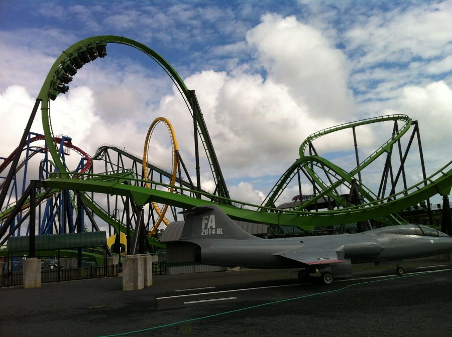 Six Flags Great Adventure Green Lantern Six Flags Great Adventure Greatest Adventure Green Lantern