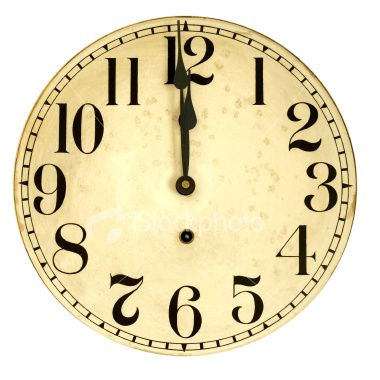 Free Printable Backwards Clock Face Where Is The Zero On A Clock